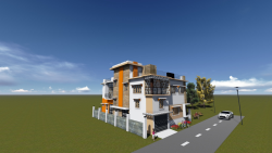 طراحی ساختمان با autodesk revit