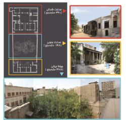 طرح مرمت و احیا خانه ناصرالدین تهران